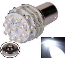 1X BA15S 1156 36 LED Pure White Tail freno del coche Luz indicadora 12V