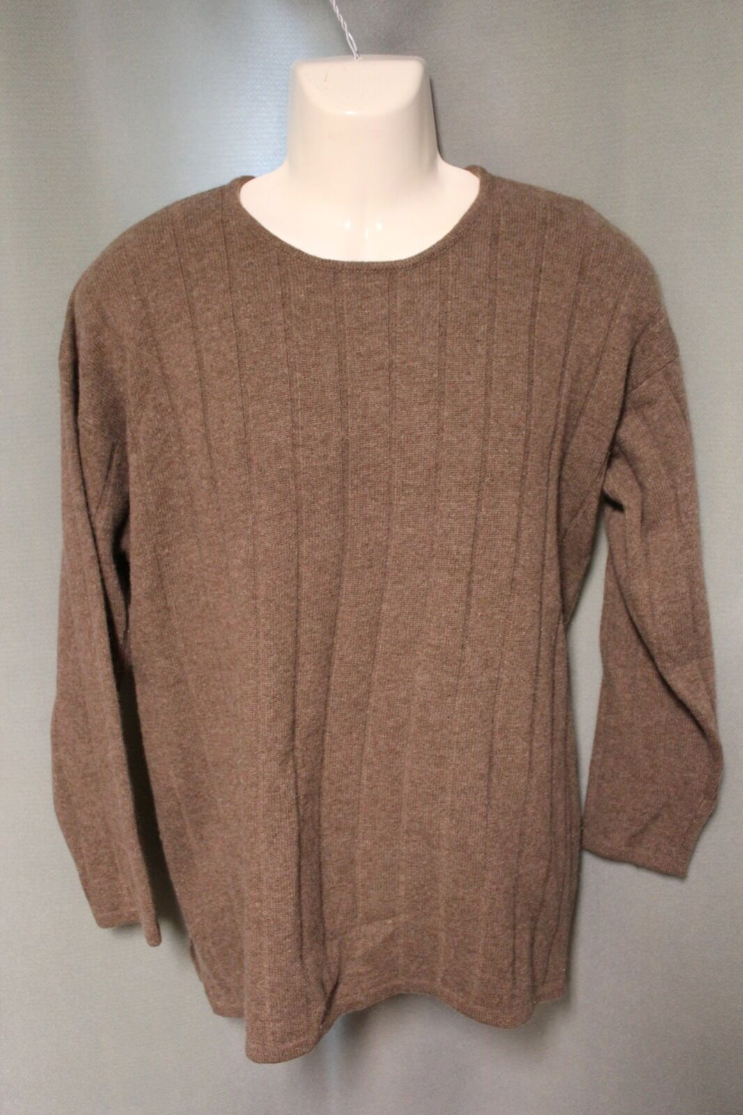 1c21234b Club 100% Cashmere Brown Sweater M Medium Charter oblnlx20533 ...