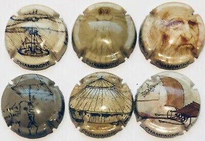 Nouvelle série Générique de 6 capsules ////600 eme Aniversaire Léonard de Vinci ////