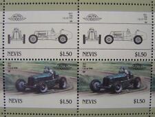 1937 ERA 1.5L B-Type Grand Prix Car 50-Stamp Sheet Auto 100 Leaders of the World