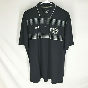 Under-Armour-Mens-Shirt-NEW-Size-Large-Heat-Gear-Loose-Short-Sleeve-Black-NWT