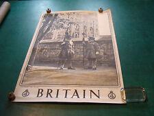 "Original Vintage Poster: BRITAIN 20 X 30""--LONDON--The Tower"