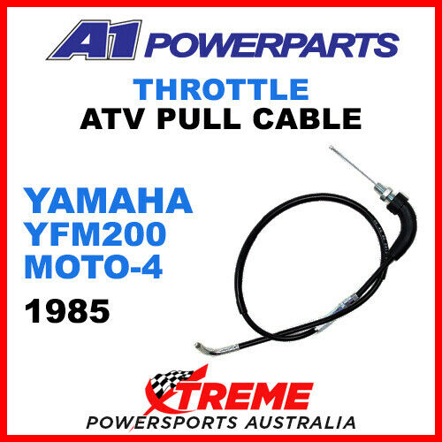 A1 Powerparts Yamaha YFM 200 Moto-4 1985 Throttle Pull Cable 51-075-10