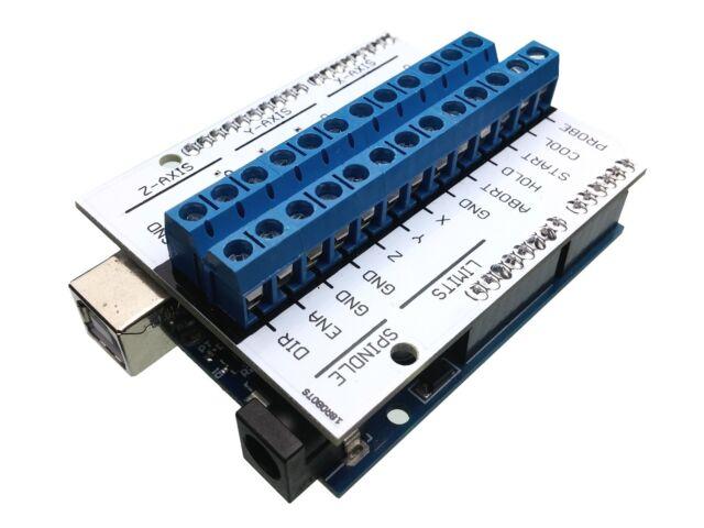 Soldering Kit: GRBL CNC Controller Shield (v2) for Arduino