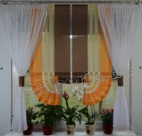 Moderne Rideaux Salon Fenêtre Décoration Marron fenêtre 120-180 Nº 484
