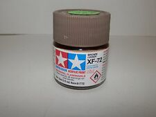 Tamiya Color Acrylic Paint Mini Brown #XF-72 (10ml) NEW