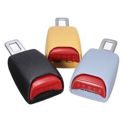1 PCS Car Seat Belt Clip Extender Support Buckle Safety Alarm Stopper Canceller
