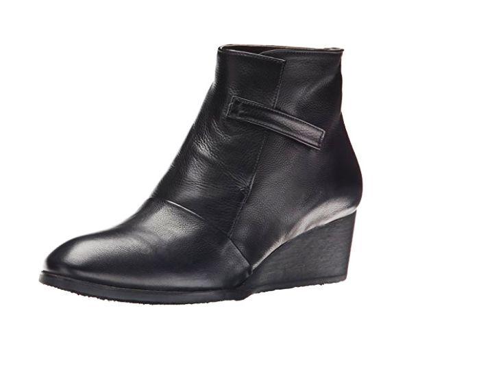 risparmiare fino all'80% COCLICO OPAL avvio 40 nero nero nero Leather  425 Wedge Ankle avvioies 9.5 10 Anthro scarpe  liquidazione fino al 70%