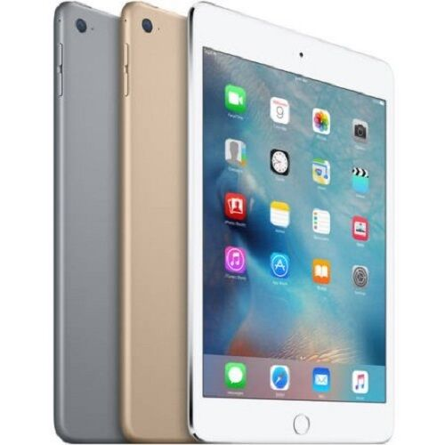 Apple iPad Mini 4 4th Generation Wifi OR Cellular Gray Gold Silver All Sizes