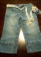 Girls Capris Denim Size 10 Blue Jean