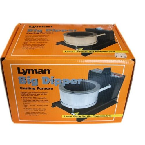 Lyman Casting Furnace for Low melt alloys /& Pewter model soldier railway