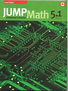 Details about JUMP Math 5. 1 : Book 5, Part 1 Of 2 by John Mighton and JUMP  Math ( Paperback)