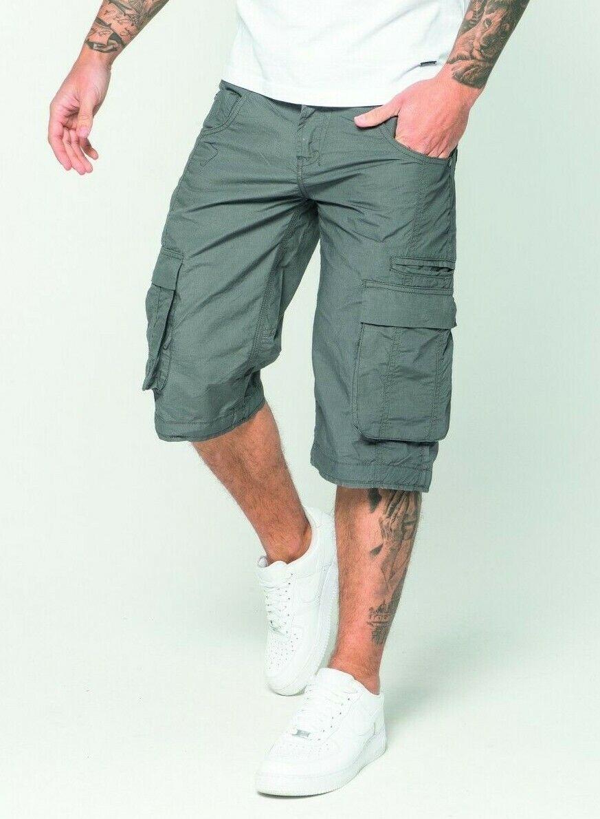 883 Police Shorts - Seattle 19A - Cargo Shorts -  Combat - grau     | Verschiedene Stile