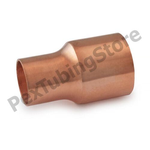"""3//4/"""" C x 1//2/"""" C Copper Reducing Coupling"""