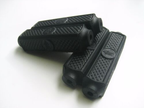 """VINTAGE BICYCLE BIKE RUBBER BLOCK FOR 4/"""" RALEIGH BICYCLE PEDALS 4 PIECES 1 SET"""