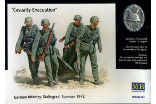 MasterBox MB3541 1//35 Casualty Evacuation German Infantry Stalingrad 1942