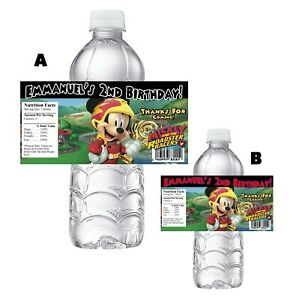 20 Spiderman Birthday Party Water Bottle Labels Wrappers Party Favors