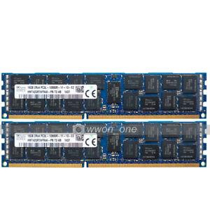 Hynix-32GB-2x16GB-2RX4-PC3L-12800R-DDR3-1600MHz-240Pin-ECC-REG-Server-Memory-RAM
