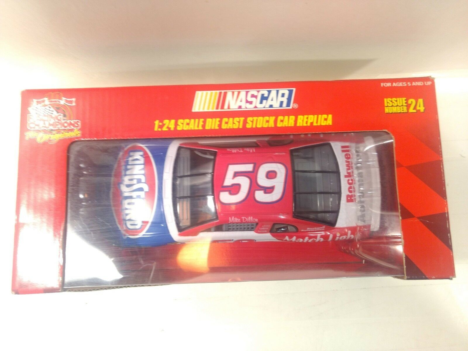 Racing Champions Nascar Kingsford Mike Dillon 1 24 Scale Diecast dc2225