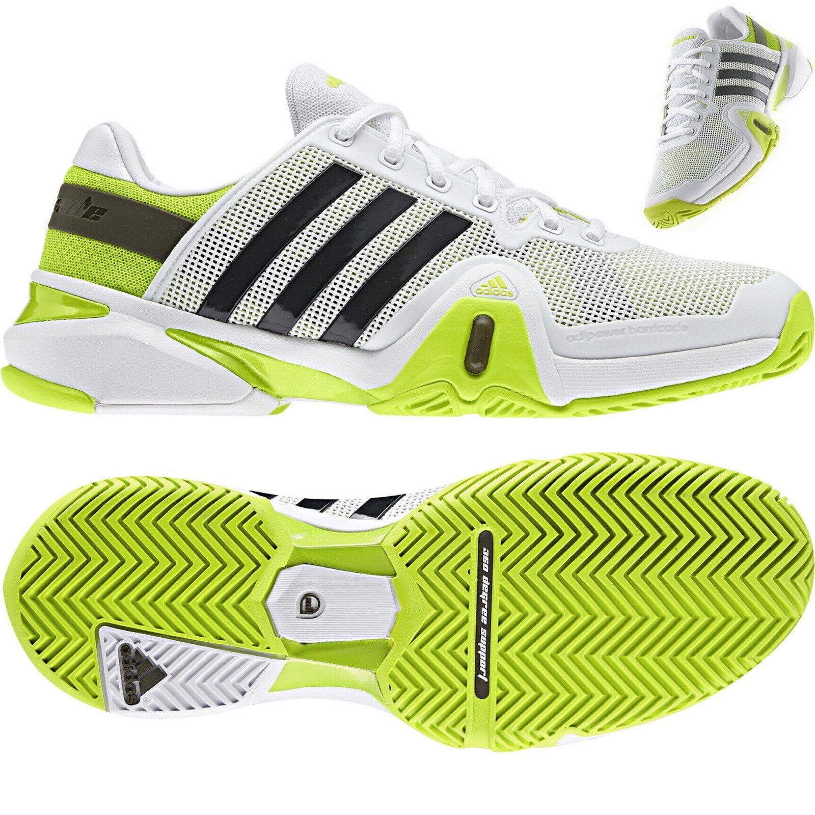 Adidas Adidas Adidas Adipower Barricade 8 Tennis Herren F32331 Weiß fluorescent 9227bc