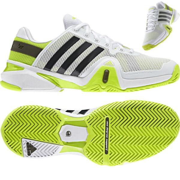Adidas Adipower Barricade 8 Tennis Uomo F32331 White Fluorescent Ultima Tecnologia