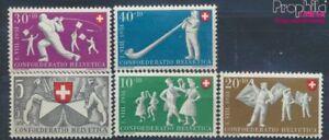 Schweiz-555-559-postfrisch-1951-Pro-Patria-7497667