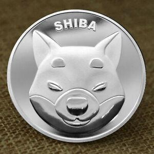 Shibcoin Coin Silver Plated Shiba Inu Shib Coins Limited Edition Collectible USA