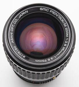 SMC Pentax-M Zoom Pentax M 35-70mm 35-70 mm 1:2.8-3.5  Asahi - Pentax PK