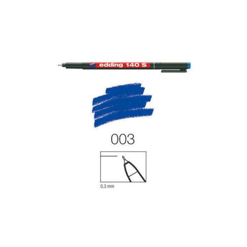 0,3mm Rundspitze blau Edding 140 S perm.