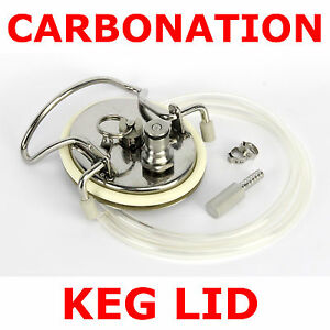 Carbonation-Keg-Lid-Kit-Stainless-Diffusion-Stone-Ball-Pin-Lock-Home-Brew