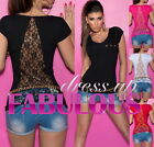 SEXY WOMEN'S TOP 6-8-10-12 LADIES CASUAL CLUBBING EVENING TRENDY SHIRT FOR GIRLS
