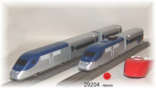 M/ärklin 29201 Startpackung Franz/ösischer Hochgeschwindigkeitszug mit Batterieantrieb und Magnetkupplungen