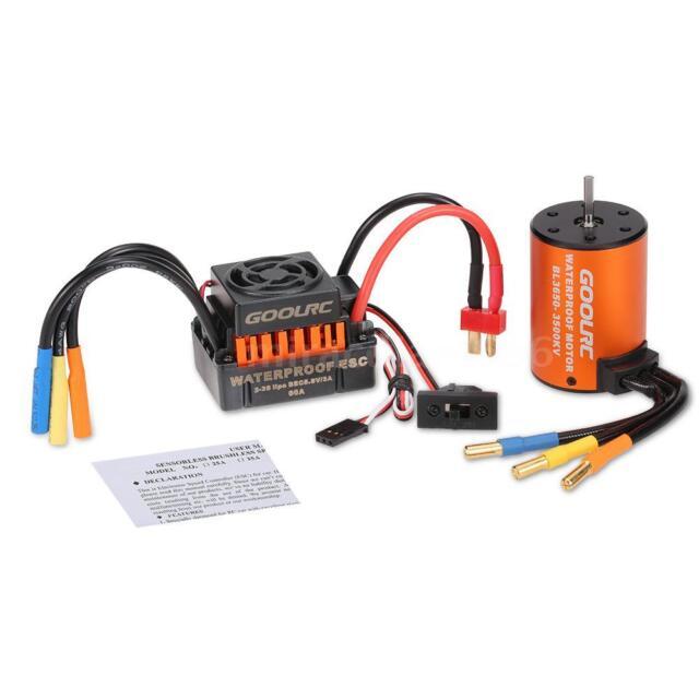 Hot GoolRC 3650 3500KV Brushless Motor /60A ESC for 1/10 RC Car K4W9