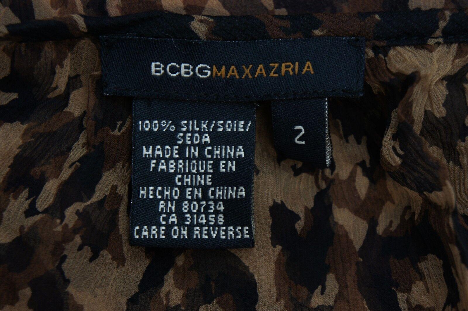 MAXAZRIA BCBG BCBG BCBG   DESIGNER 100% SEIDE BlauSE SPITZE SCHW BRAUN   36   NEUW | Rabatt  | Garantiere Qualität und Quantität  0fe56a