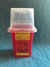 New Bd Sharps Collector 15 Quart Container For Needles Amp Biohazard Waste Dispos