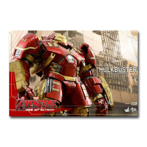 New Iron Man HULK BUSTER Movie Art Silk Canvas Poster 12x18 24x36 inch