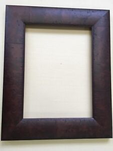 Wide-Solid-Wood-Tuscany-Rustic-Mahogany-12x16-Picture-Or-Mirror-Frame