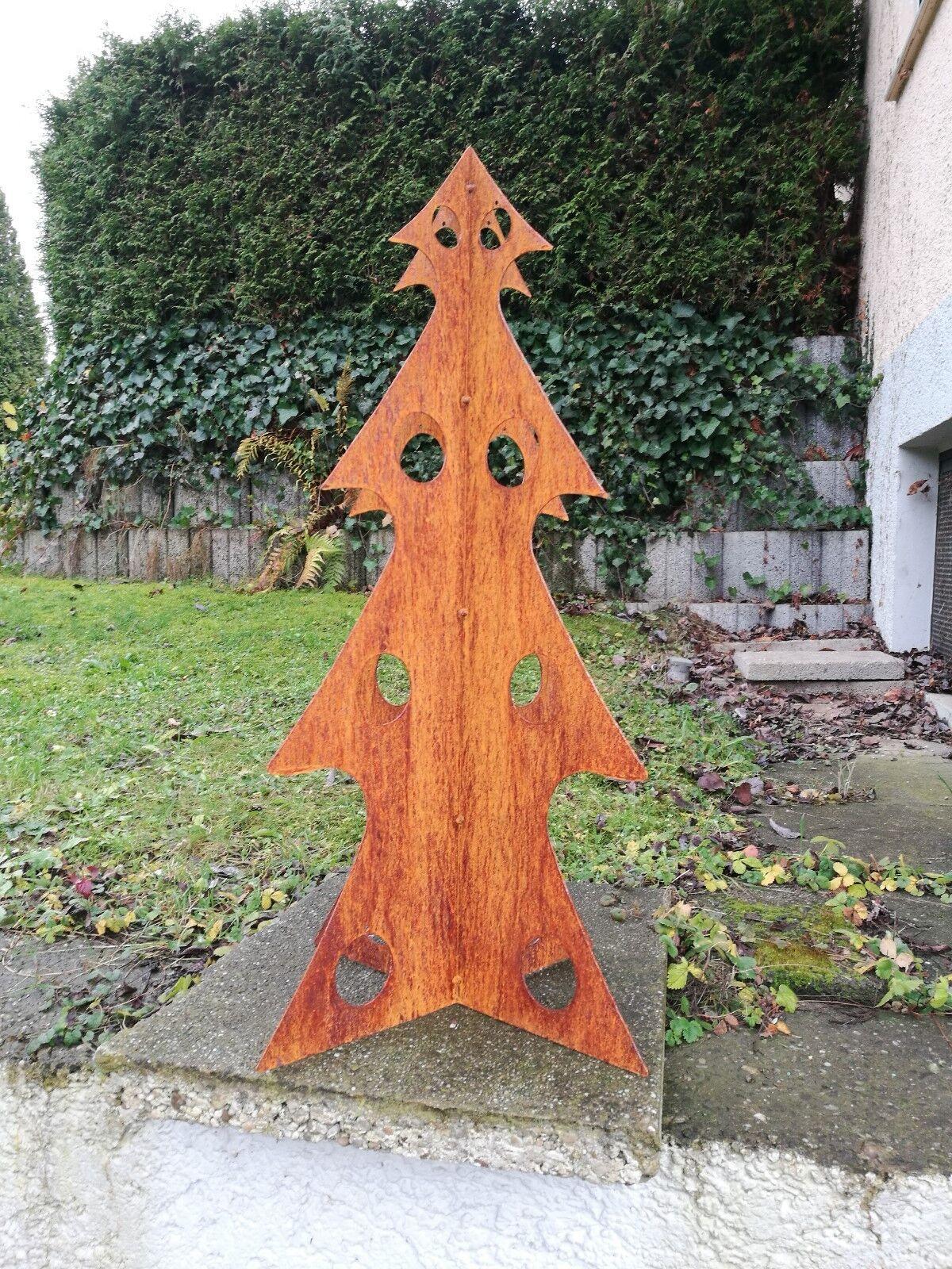 Edel óxido árbol de Navidad Árbol tannenbaum navidad 4 lados, para balas
