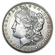 1878-1904 Morgan Silver Dollars AU (Random Years, 20-Count Roll) - SKU #92362