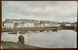 Harbour-amp-Kerr-Street-Portrush-Postcard-Co-Antrim-Northern-Ireland-Vintage-Boats
