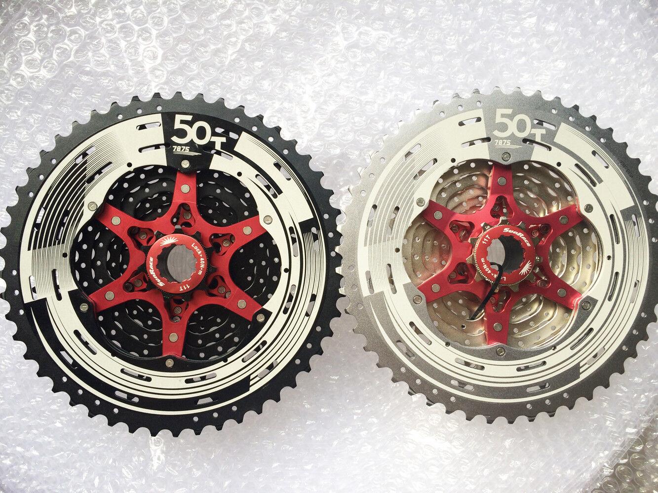 2018 Sunrace 12 Speed CSMZ90 11-50T Cassette Bicycle Wide Ratio MTB Freewheel