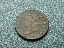 1809 Large Cent, Fine