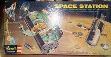 """REVELL 1959 """"SPACE STATION"""" [KIT H-1805:498] 1/96 INVENTORIED & REPRO DECALS"""