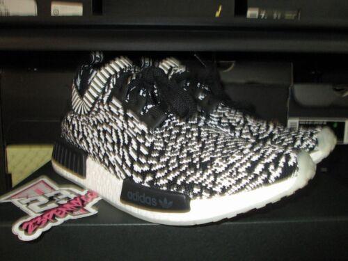 Rebajas Sz 8 Nmd Adidas By3013 Zebra Pk R1 Sashiko Negro Blanco Nuevo 9 Primeknit ArHqgA