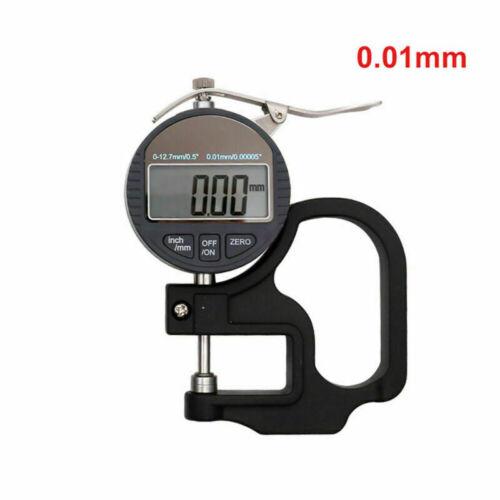 Digital Dickenmesser Dickenmessgerät Messuhr Measuring Gauge Dicke Messer 12.7mm