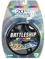 Battleship Express 20 Minute Game Family Travel Size Battle Ship Hasbro Parker