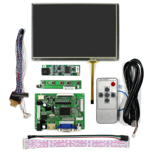 "HDMI VGA 2AV LCD Driver Board VS With  7/""1280x800 N070ICG LD1 LCD Touch Screen"