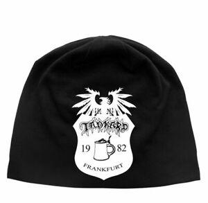 Tankard-Crest-Jersey-Beanie-Hat-Official-Heavy-Metal-New