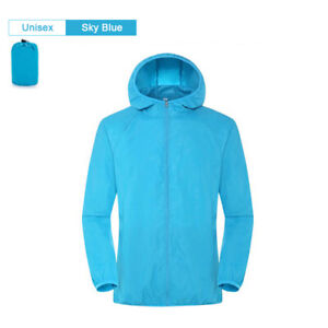 Men Women Hiking Jacket Waterproof Quick Dry Camping Hunting Clothes Sun-Protect