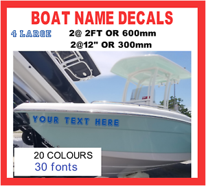 4-x-LARGE-2ft-BOAT-NAME-Custom-Decals-Stickers-Graphics-600x150mm-PERSONALISED
